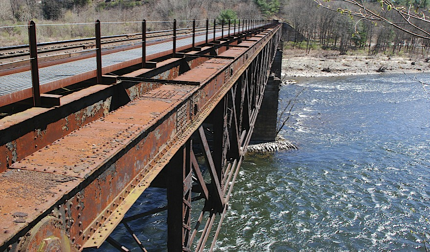 Nuts and Bolts – 19th Century Railroad Bridge, and MEN