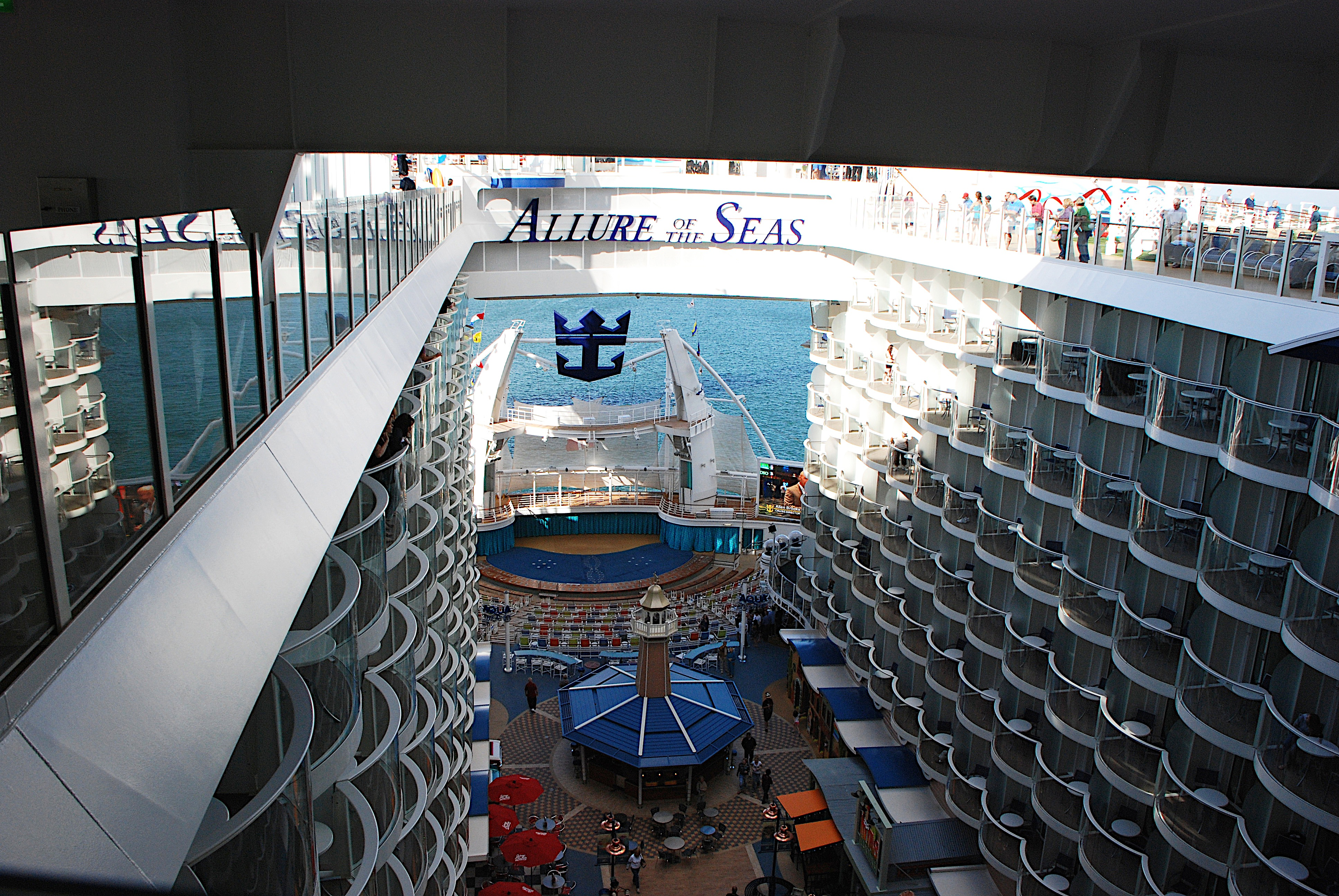 Aboard the largest cruise ship in the world the allure of for Allure of the seas interior