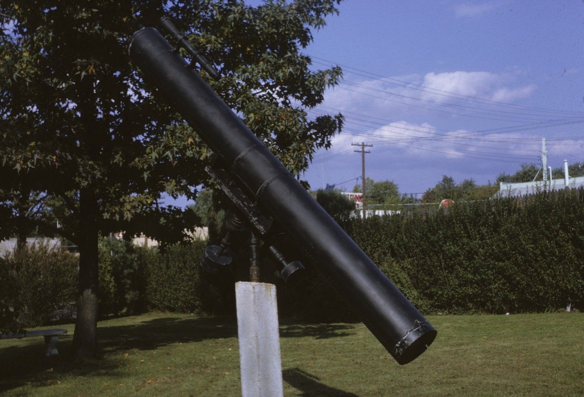1.120 9-29-62 Bergenfield, 8 inch telescope just before selling it